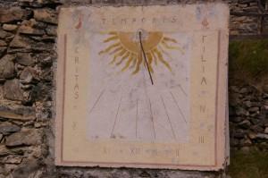Cadran solaire - Face sud