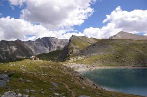 Chapelle et lac Sainte-Anne