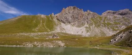 Panoramique - Lac Clausis - Ceillac