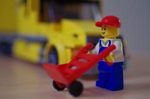 Livreur Lego – DA35 Ltd @2.8