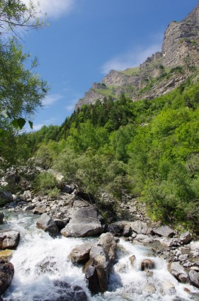 Les Ecrins - Vallée du Rabioux