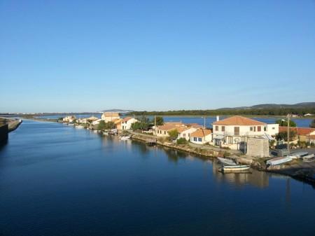 Canal du Rhône à Sète - Frontignan Les Aresquiers