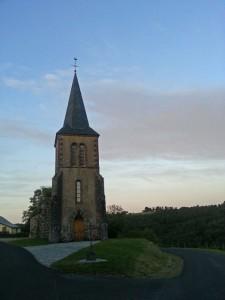 Eglise de Singles - Crépuscule
