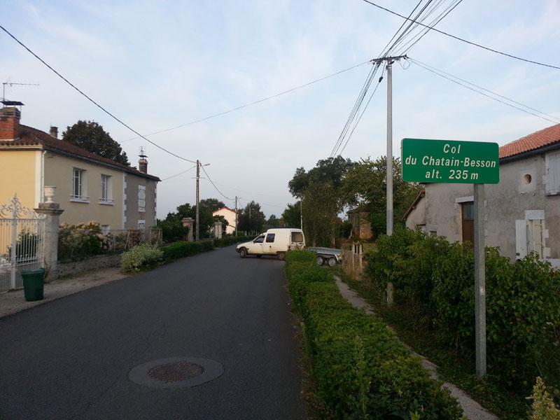 Col du Chatain-Besson (Montbron)