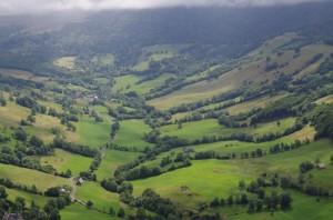 Puy Violent depuis le Col de Neronne