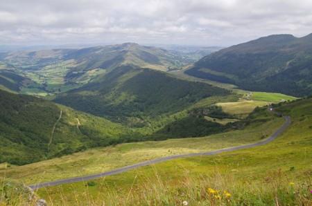 Route du Pas de Peyrol depuis le Puy Mary