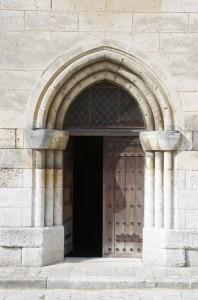 Collégiale - Porte du transept