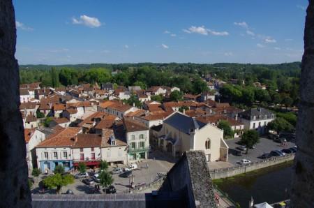 Village de Brantôme depuis le clocher