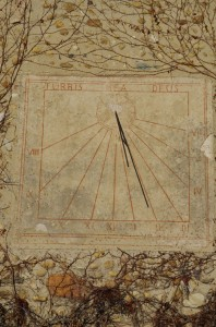 Cadran solaire - Turris Deus Mea