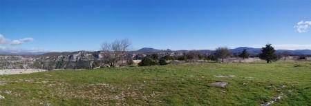 Panoramique causse de Navacelles