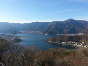 Lac Kawaguchi depuis le Mont Tenjo