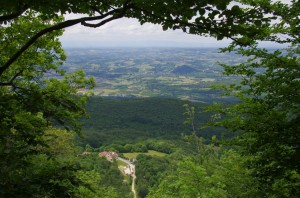Vue sur la plaine de l'Isère