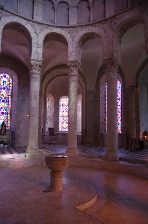 Fonts baptismaux - Abbatiale Notre Dame