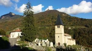 Proveysieux - Eglise et cimetierre