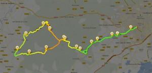 Carte - Tour du Causse d'Aumelas