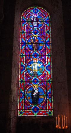 Vitrail - Abbatiale Notre Dame