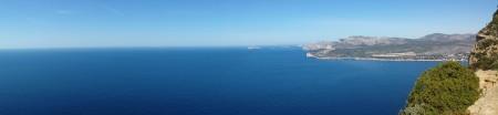 Vue panoramique depuis la route des Crêtes