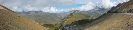 Col du Galibier côté Maurienne