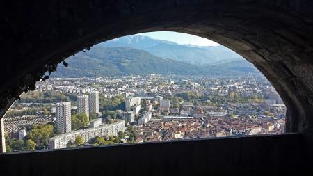 Grenoble depuis les casemates