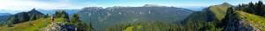 Panoramique - Depuis les crête de Mont-Fromage