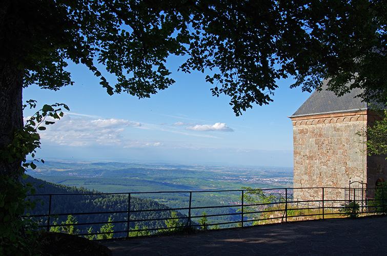Mont Sainte-Odile - La plaine