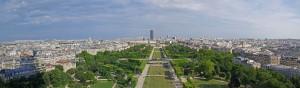 Panoramique Tour Eiffel - 1er étage