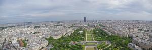 Panoramique Tour Eiffel 2e étage