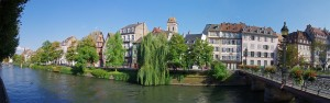 Panoramique Strasbourg - Quais de l'Ill