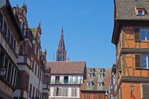 Strasbourg - Rues et Cathédrale