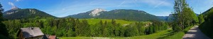 Panoramique depuis Brévardière - Chamechaude, Charmant Son et Saint-Hugues de Chartreuse
