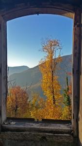 Embrasure d'automne