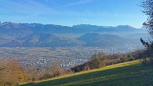 Grenoble depuis le Mont Rachais