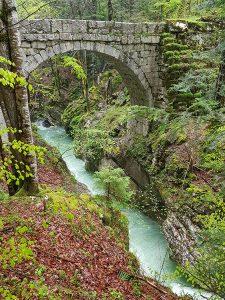 Pont Peirent - gorges du Guiers Mort