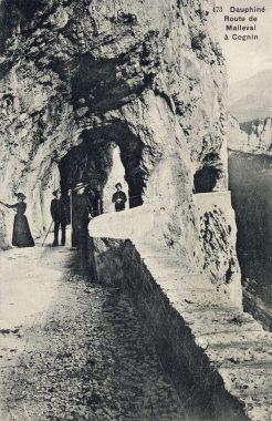 Percée du Grand Rocher - 1895