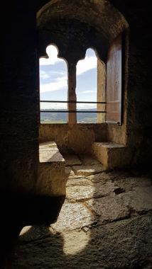 Donjon - Fenêtre double trilobée