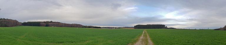 Panorama - Campagne à Bonlanden